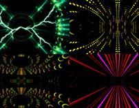 Trance Leds - VJ Loop Pack (4in1)