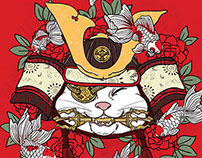 Samurai Cat Collection