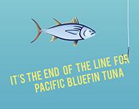 Eco Issue Poster - Pacific Bluefin Tuna