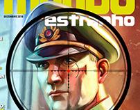 Capa Mundo Estranho #172 - A Caça aos Nazistas