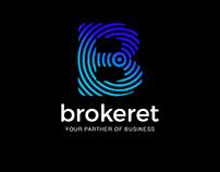 Brokeret logo