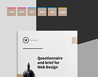 Questionnaire and Brief for Web Design