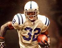 Edgerrin James Indianapolis Colts