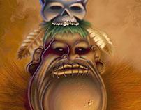 Medicine Man Illustration
