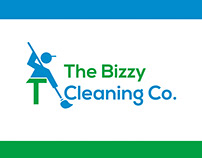 Cleaning Logo for The Bizzy Cleaning Co