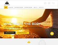 Yoga Coaching Website UI