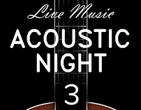 Acoustic Night Coffee house concert