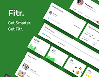 Fitr: Fitness Website Design Case study
