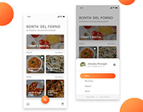Restaurant App UI/UX Design