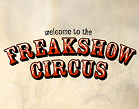 Victorian Poster 'Freakshow Circus'