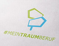 #Meintraumberuf - logo for goethe institut ( 7-2016 )