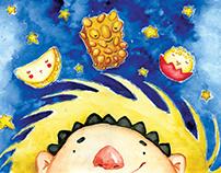 Numa noite estrelada   Livro infantil