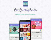 CRX Greeting Cards Android App