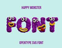 Happy Monster Font