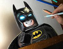 Lego Batman Drawing