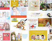 Facebook Ads, Banners, Cards Design