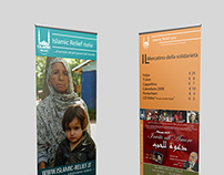 Scenographic Banners - Islamic Relief