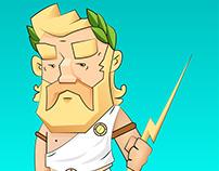 thunder man (illustration)