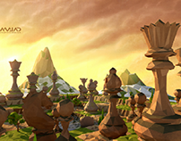 Low Poly-Chess Master(Spring)