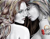Ilustracion digital erotica