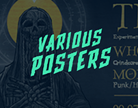 Various posters #2