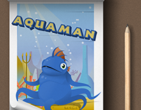 Aquaman, cartoon character