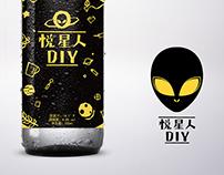 悦星人DIY啤酒Branding