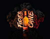 Glenfiddich - 'Fire & Cane'