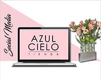 Social Media / Azul Cielo Tienda