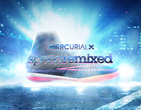 Nike MercurialX: Speed Remixed