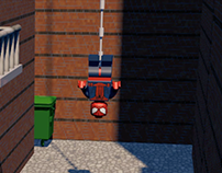 LEGO SPIDERMAN 3D ANIMATION