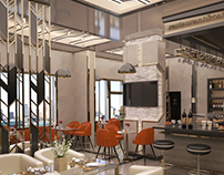 cafe&restaurant interior&exterior design