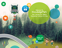 Knowledge Park Responsive Website Slicing