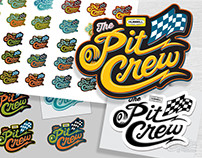 "Hubbell ""The Pit Crew"" logo"