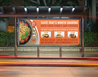 Restaurant Billboard Template Vol.9