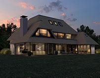 Project Villa Roggelaan te Knokke