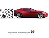 Alfa Romeo Outdoor Branding