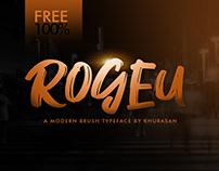 Free Font - Rogeu Brush