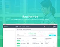 horsepower - Web/user's dashboard