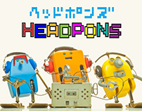 Short Film : Frebots!3_HEADPONS