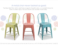 The Mare Side Chair Photography and Promotional Promos