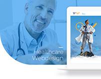 Tip Top Healthcare Webdesign