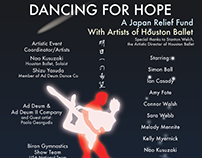 Dancing for Hope Poster design