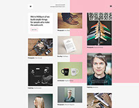 Millburn - WordPress Portfolio Theme by: Pail Winslow