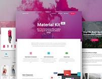 Material Kit PRO - Premium Bootstrap UI Kit