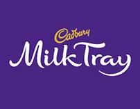 CADBURY : NEW MILK TRAY MAN : MICROSITE
