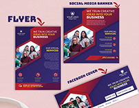 Corporate Flyer & Social media banner