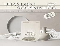 Branding&Cosmetics mockup pack
