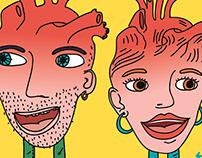 Choquez-Nous Identité visuelle Illustration
