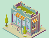 Isometric store